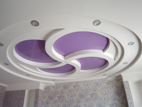 Криволинейные натяжные потолки