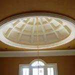 Натяжной потолок с куполом